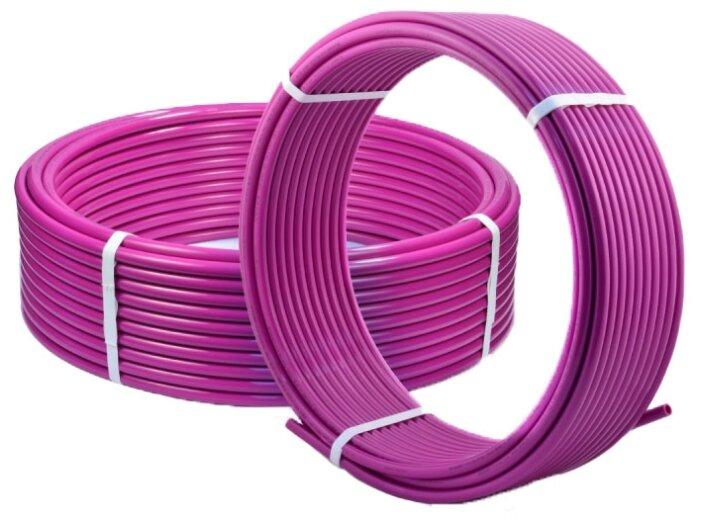Труба из сшитого полиэтилена Tim PE-Xb/EVOH TPEX1622-200 Pink, DN16 мм