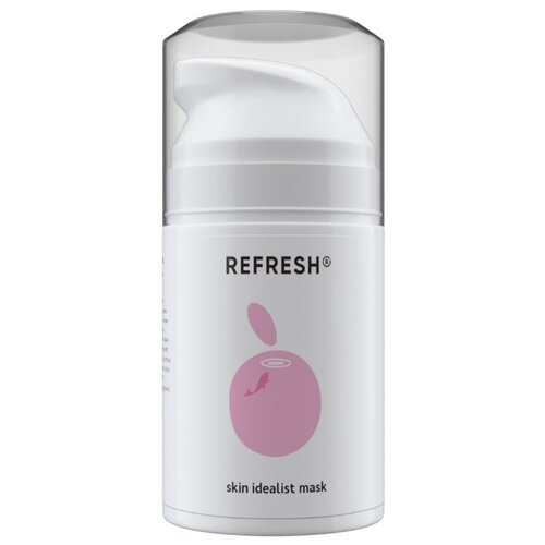 REFRESH Минерально-альгинатная маска Skin Idealist Mask, 50 мл refresh refresh celluvisc lubricant eye drops single use containers 30 ct pack of 2