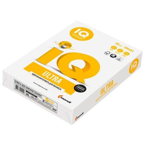 Фото - Бумага Mondi A4 IQ Ultra 80 г/м² 500 лист. белый бумага iq color а4 color 120 г м2 250 лист оранжевый or43 1 шт