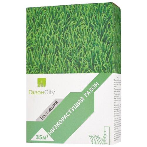 Смесь семян ГазонCity Настоящий Низкорастущий газон, 1 кг фото