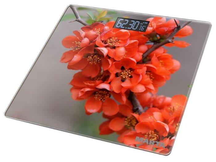 Весы электронные MARTA MT-1678 Весенние цветы — купить по выгодной цене на Яндекс.Маркете