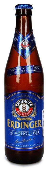 Пиво безалкогольное 0.45% Erdinger 0.5 л