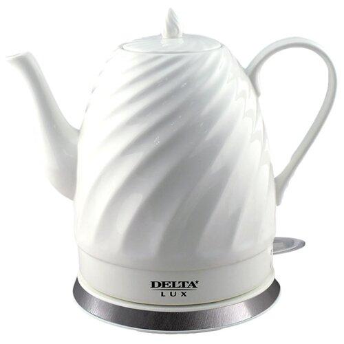 Чайник DELTA LUX DL-1238, белый