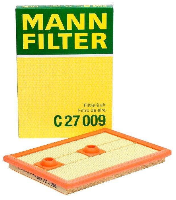 Панельный фильтр MANNFILTER C27009