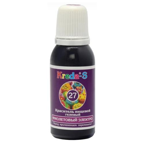 KREDA - S Краситель пищевой гелевый №27 Фиолетовый электро 25 г