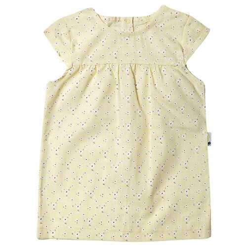 Платье Клякса размер 28-98, желтый