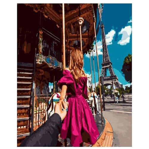 Купить Картина по номерам ВанГогВоМне ZX 23022 Следуй за мной. Париж 40х50 см, Картины по номерам и контурам