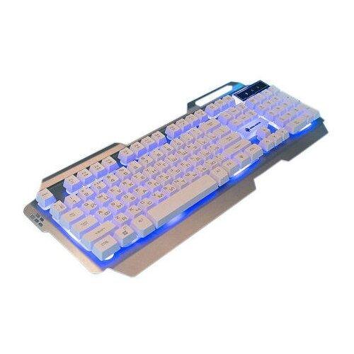 Клавиатура с подсветкой игровая Dialog KGK-25U Gan-Kata (серебристая)