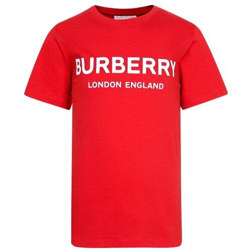 Футболка Burberry размер 104, красный футболка burberry 39624661