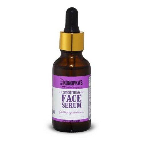 Dr. Konopka's Smoothing Face Serum Сыворотка для лица разглаживающая, 30 мл dr gloderm маска для лица разглаживающая wrinkletox time to mask 25 мл