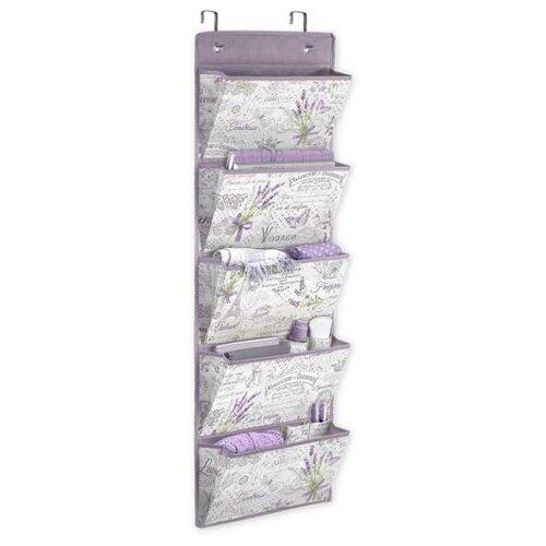 Valiant Органайзер подвесной на дверь Lavande LV-PD5 белый/фиолетовый valiant органайзер подвесной для сумок lavande lv hb5 бежевый фиолетовый