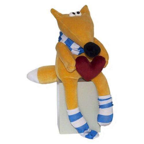 Мягкая игрушка Штучки, к которым тянутся ручки Лис Валентин 45 см штучки к которым тянутся ручки игрушка для ванной колобашки зайчик
