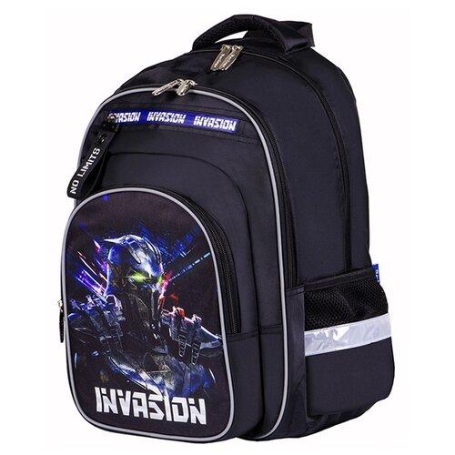 Купить Berlingo рюкзак Ergo Invasion, синий/черный, Рюкзаки, ранцы