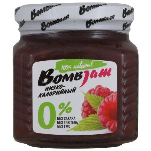 Джем низкокалорийный BombBar Малина без сахара, банка 250 г