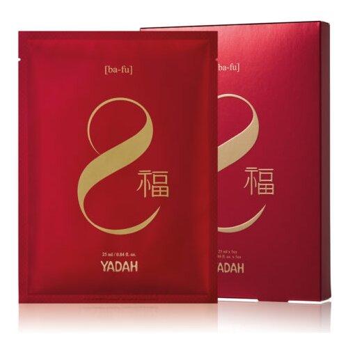 Yadah Фольгированная маска Red Energy увлажняющая, 25 мл, 5 шт.