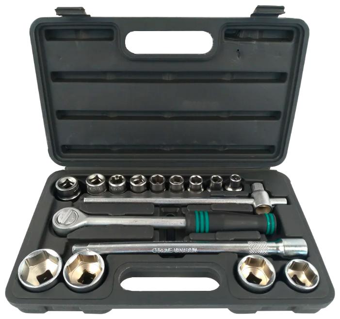 Набор автомобильных инструментов Сервис ключ 71552 (16 предм.) — купить по выгодной цене на Яндекс.Маркете