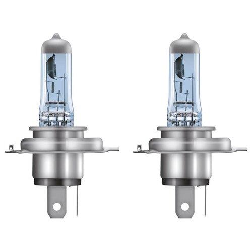 Лампа автомобильная галогенная Osram COOL BLUE INTENSE H4 64193CBI-HCB 12V 60/55W 2 шт. лампа галогенная osram h11 original 12v 55w 1 шт