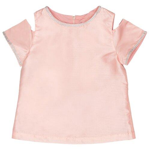 Блузка Button Blue размер 110, розовый