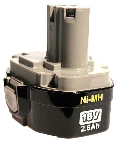 Аккумулятор Makita 193102-0 Ni-Mh 18 В 2.6 А·ч — купить по выгодной цене на Яндекс.Маркете