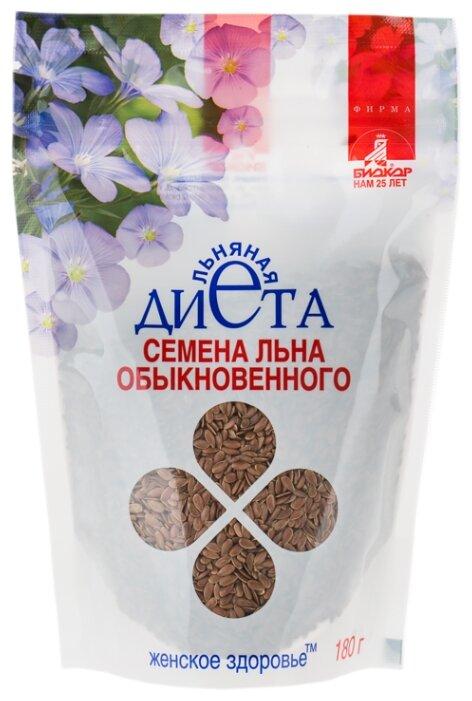 Семена льна Биокор Льняная диета Женское здоровье 180 г