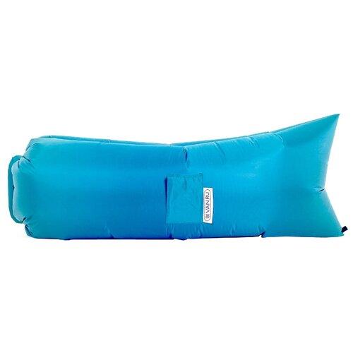 Надувной диван Биван Классический (180х80) голубой