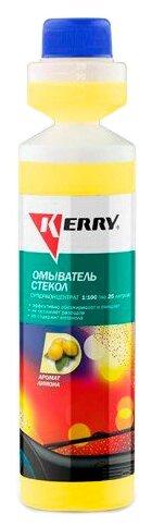 Жидкость для стеклоомывателя KERRY KR-338, 0.27 л