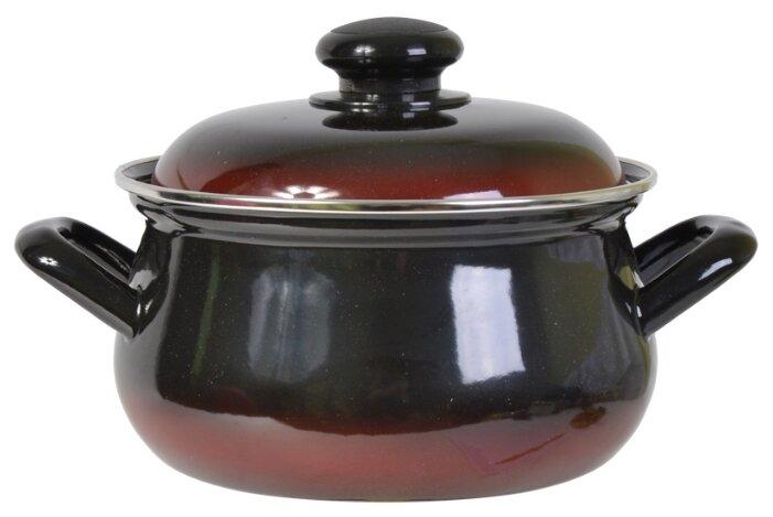 Кастрюля Лысьвенский завод эмалированной посуды Южанка 3 л
