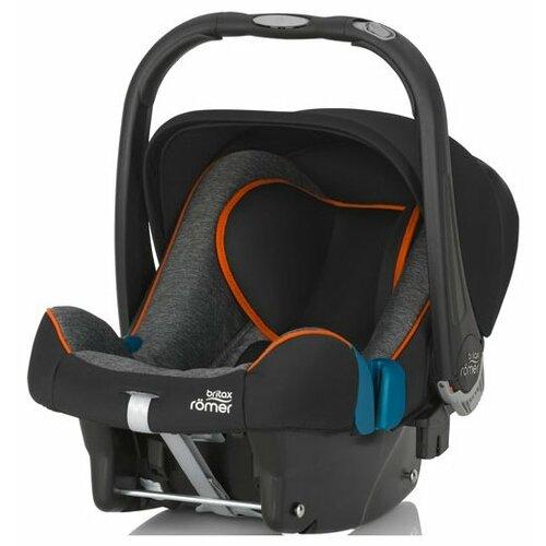 цена на Автокресло-переноска группа 0+ (до 13 кг) BRITAX ROMER Baby-Safe Plus II SHR, Black Marble