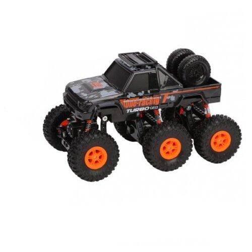 Внедорожник Пламенный мотор Краулер Штурм (870428) 28 см черный/оранжевый внедорожник пламенный мотор краулер штурм 870427 28 см черный зеленый