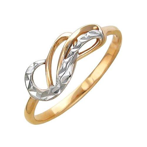 Эстет Кольцо из красного золота 01К715603, размер 18 фото