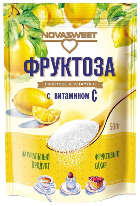 NOVASWEET Сахарозаменитель Фруктоза с витамином С порошок