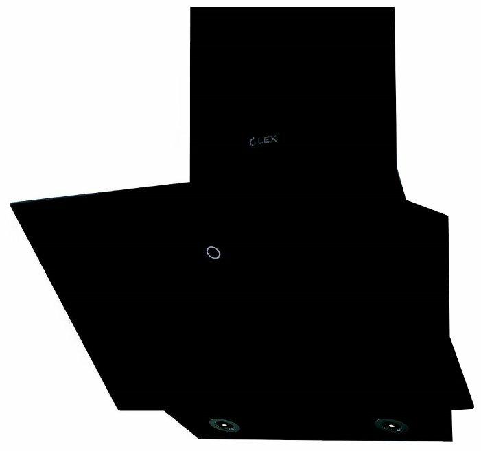 Каминная вытяжка LEX Touch 600 black