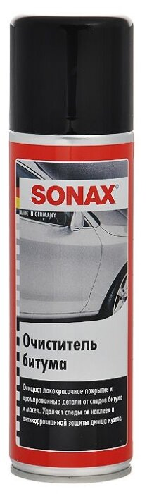 Очиститель кузова SONAX от битума, 0.3 л