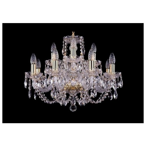Люстра Bohemia Ivele Crystal 1406 1406/8+4/195/G, E14, 480 Вт люстра bohemia ivele crystal 1716 8 8 4 265b gb