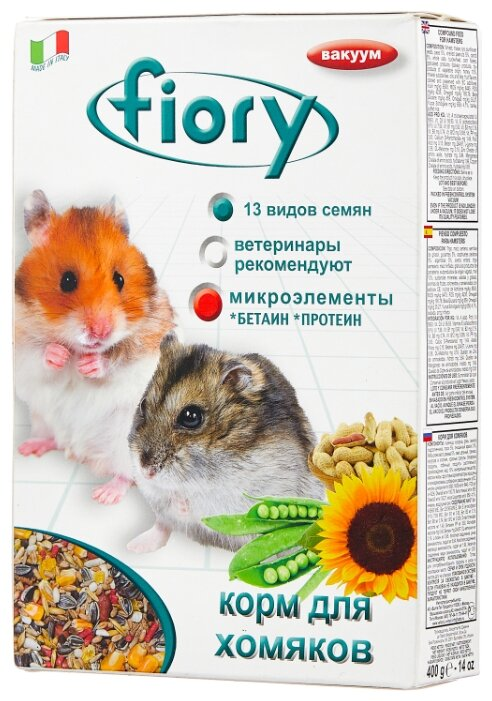 Корм для хомяков Fiory Superpremium Criceti