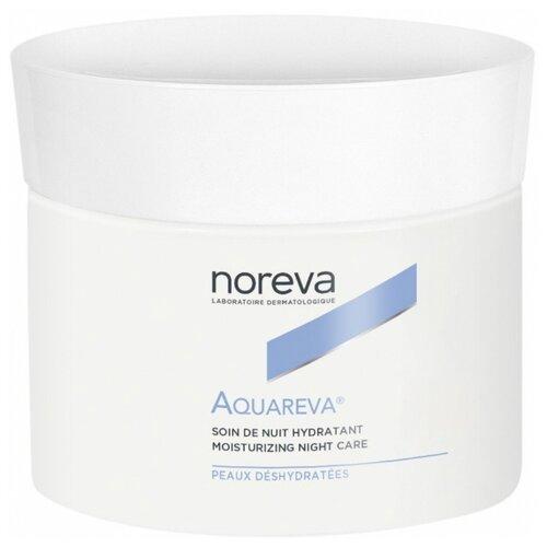 Фото - Noreva laboratories Aquareva Moisturizing Night Care Крем для лица ночной интенсивный увлажняющий, 50 мл noreva акварева увлажняющий скраб 75 мл noreva aquareva