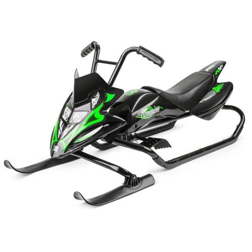 Купить Снегокат Small Rider Scorpion черный / зеленый, Снегокаты
