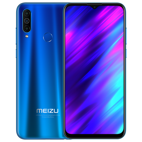 Смартфон Meizu M10 3/32GB синий смартфон meizu m5 note 32gb gold