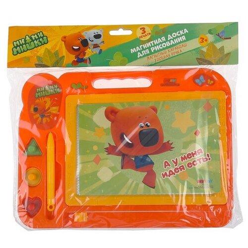 Купить Доска для рисования детская Играем вместе Ми-ми-мишки (B1703187-MIMI) желтый/оранжевый, Доски и мольберты