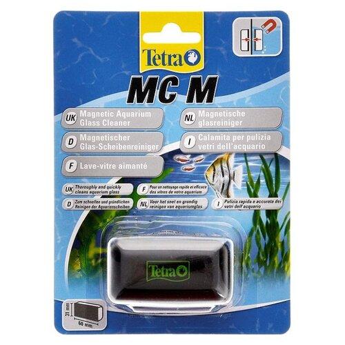 Скребок для аквариума Tetra MC Magnet Cleaner M черный