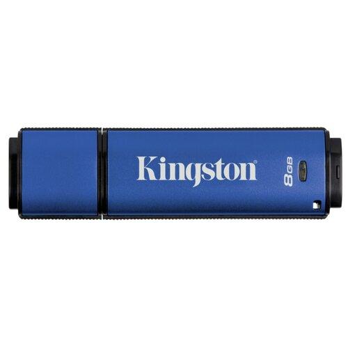 Фото - Флешка Kingston DataTraveler Vault Privacy 3.0 8GB синий privacy