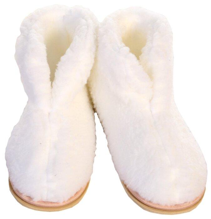 Тапочки высокие ivshoes белый 38-39