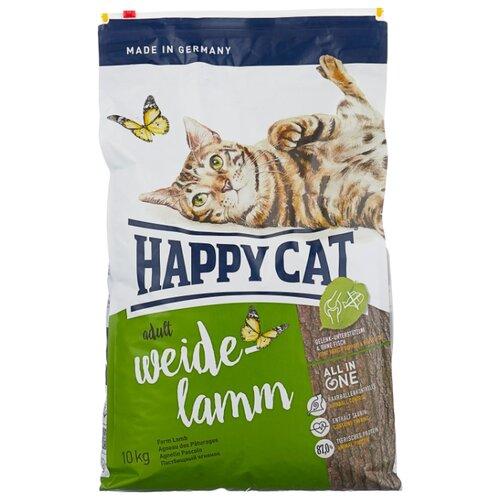 Корм для кошек Happy Cat Supreme при чувствительном пищеварении, с ягненком 10 кг