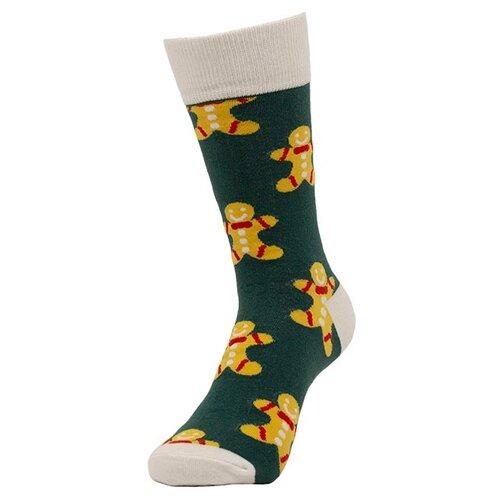 Носки AFH Имбирный пряник, разноцветный