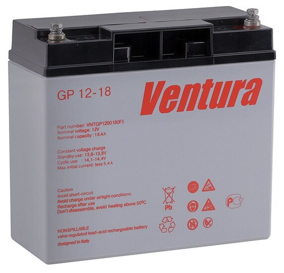 Аккумулятор для ИБП Ventura GP 12-18