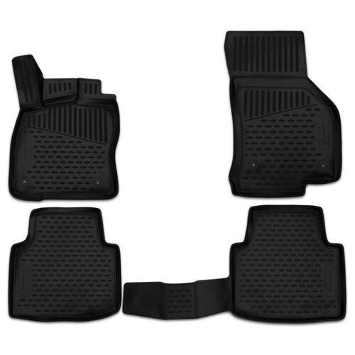 Комплект ковриков ELEMENT 3D4517210k для Skoda Superb 4 шт. черный