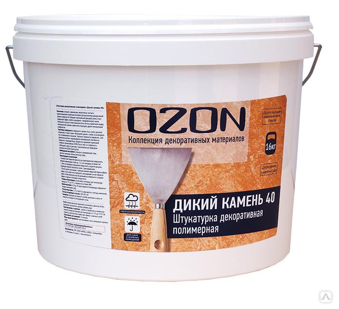 Декоративное покрытие OZON ДИКИЙ КАМЕНЬ 40