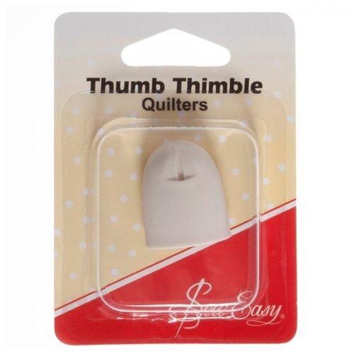 Купить Hemline Напёрсток для квилтинга Sew Easy ER227 белый, Инструменты и аксессуары
