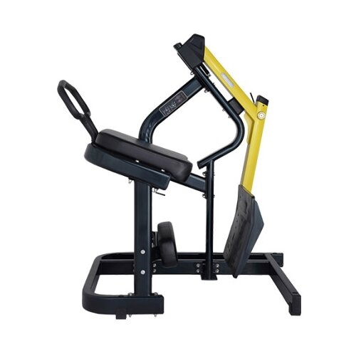 Тренажер со свободными весами Bronze Gym XA-08 черный/желтый