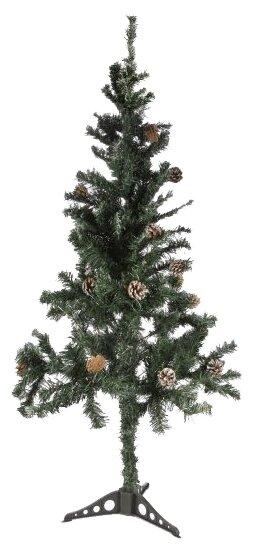 Ёлка Новогодняя сказка с шишками 180 см 973325